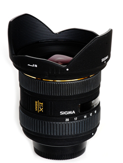 Objectif Sigma 10-20 mm